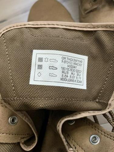 5.11 Skyweight Boots Coyote Brown NWOB Size Mens