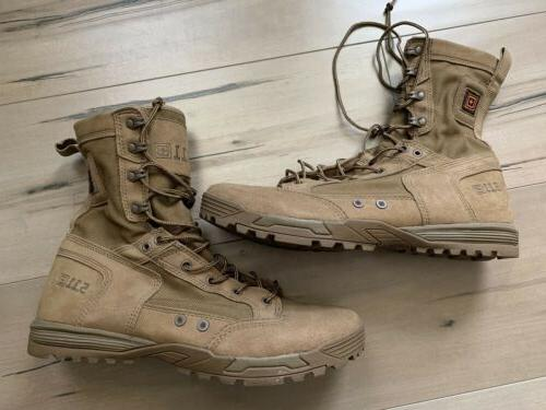 5 11 tactical skyweight combat boots coyote