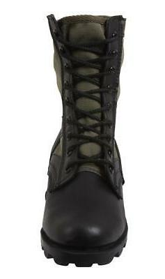 Rothco 5080 Olive Drab G.I. Style Jungle, Combat Boot,