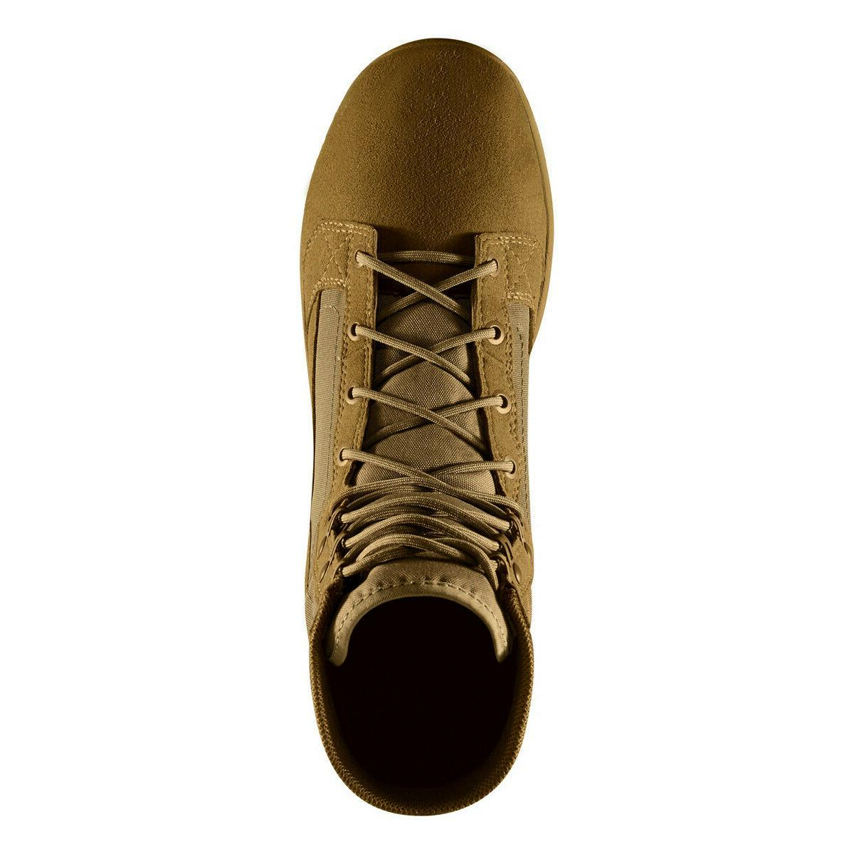 """Danner 8"""" Coyote Leather Combat Military Boots 50136"""