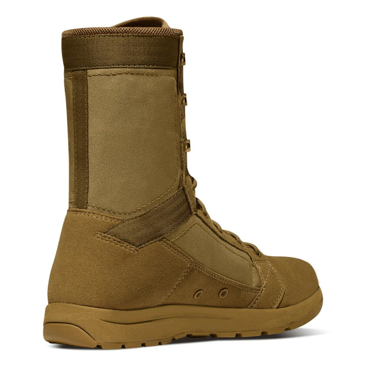 """Danner 8"""" Tachyon Coyote Leather Military Boots 50136"""