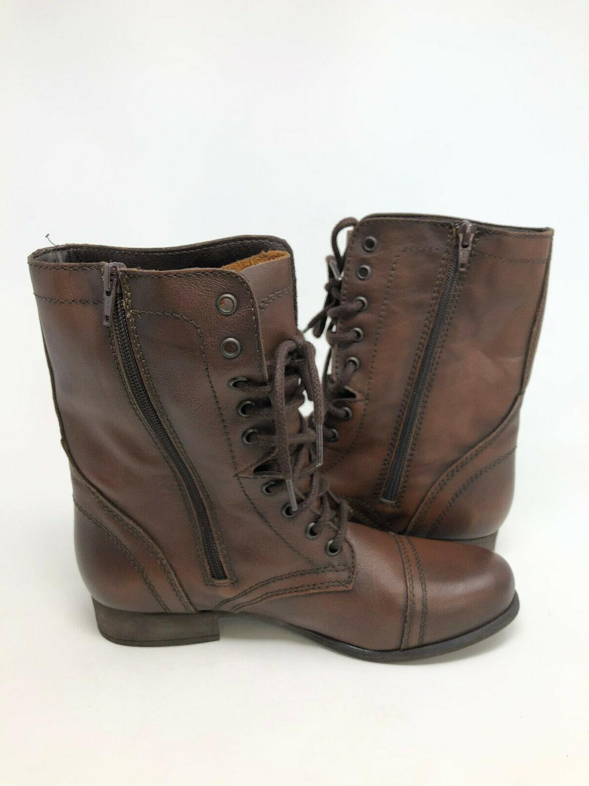Steve Leather Boots Cap NEW