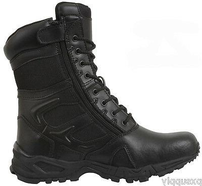Black Forced Entry Boot Military Combat Boots rothco