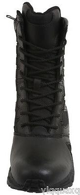Black Forced Boot Military Boots 5358