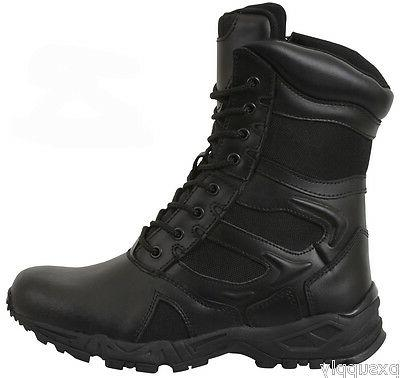 Black Forced Tactical Boots rothco 5358