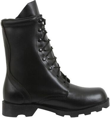 """Black 10"""" Military Army Rubber Sole"""