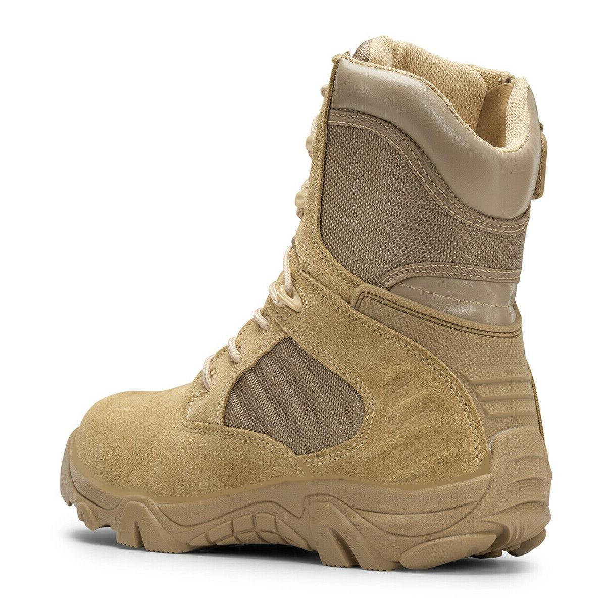 Bufferzone® Men's Tan Boots With