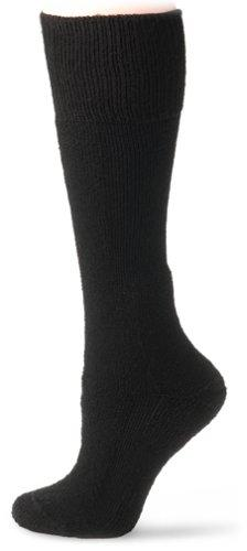 Thorlo Men's Combat Boot Overcalf Socks, Black, Medium