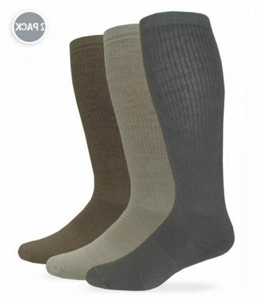 Jefferies Combat Boot Socks 2 pair pack L  and XL  NEW