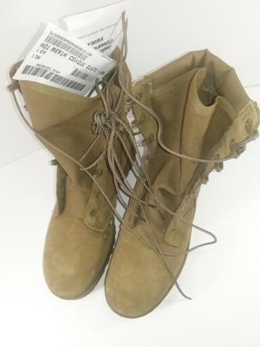 Combat Boots, Coyote Hot Desert Hiking Size R