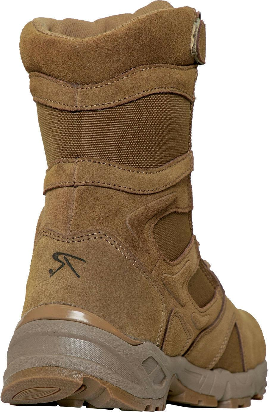 Coyote 670-1 Forced Side Zipper Tactical Deployment Boots