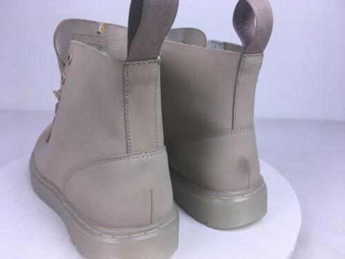 Doc TALIB Sand Suede 8-Eye Boots New Without