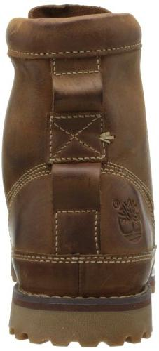 Timberland Rugged Leather Men's Brown Burnished, 8.0