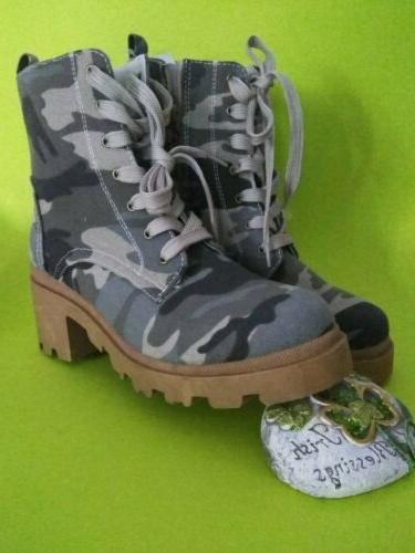 Sugar Ankle boots Light Camo, brand