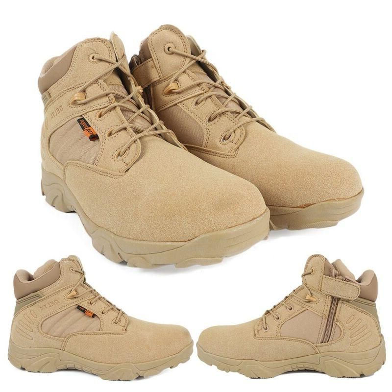 Hiking Tactical Boots Combat Army Size