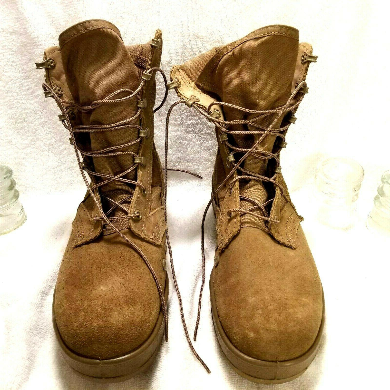 US Military Boots 8.5 W hot weather army Combat