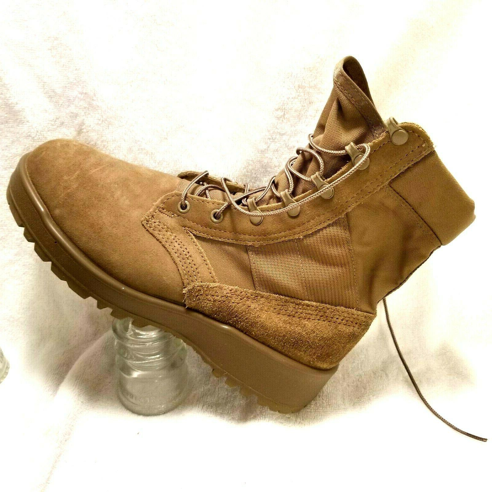 issued mens military boots sz 8 5