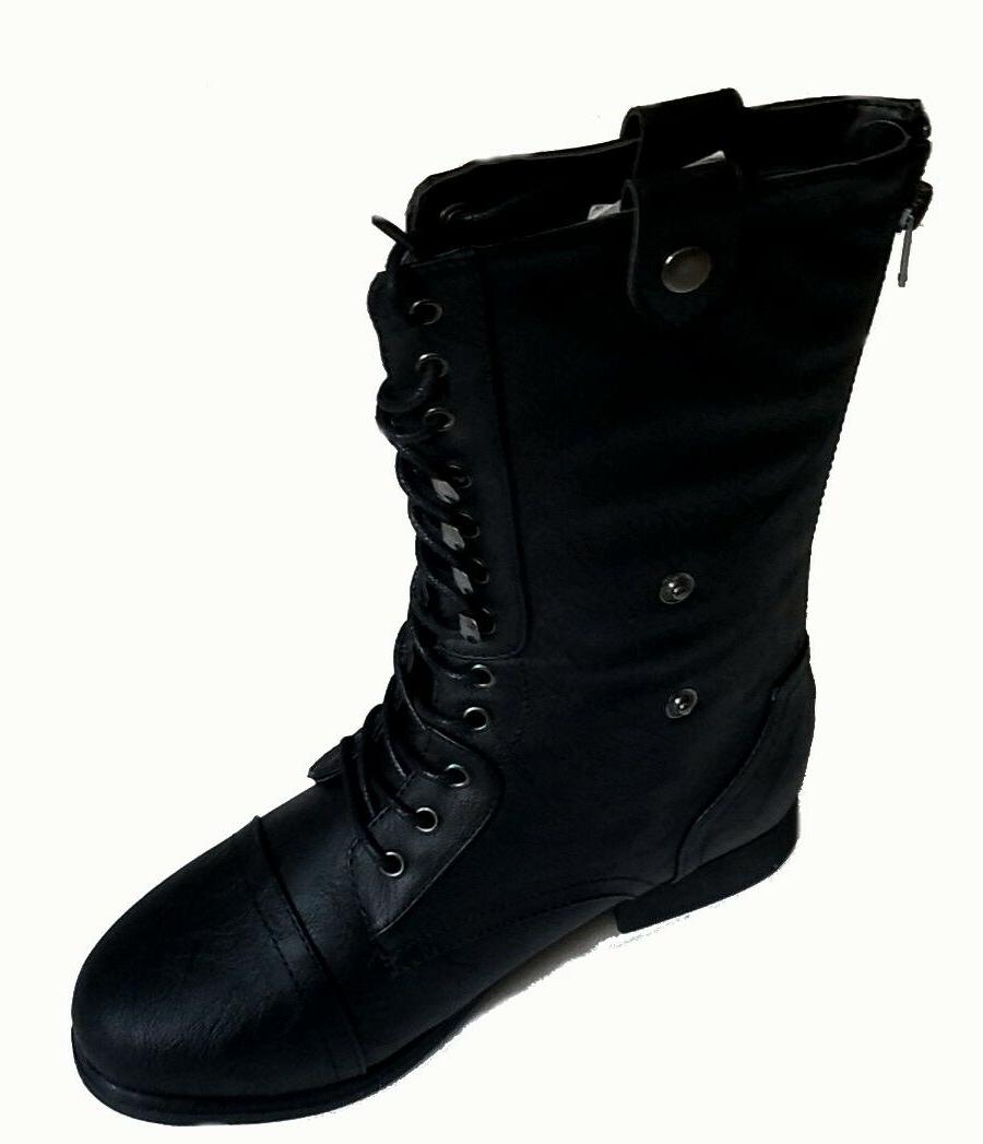 Mid Combat Military Boots Shoes