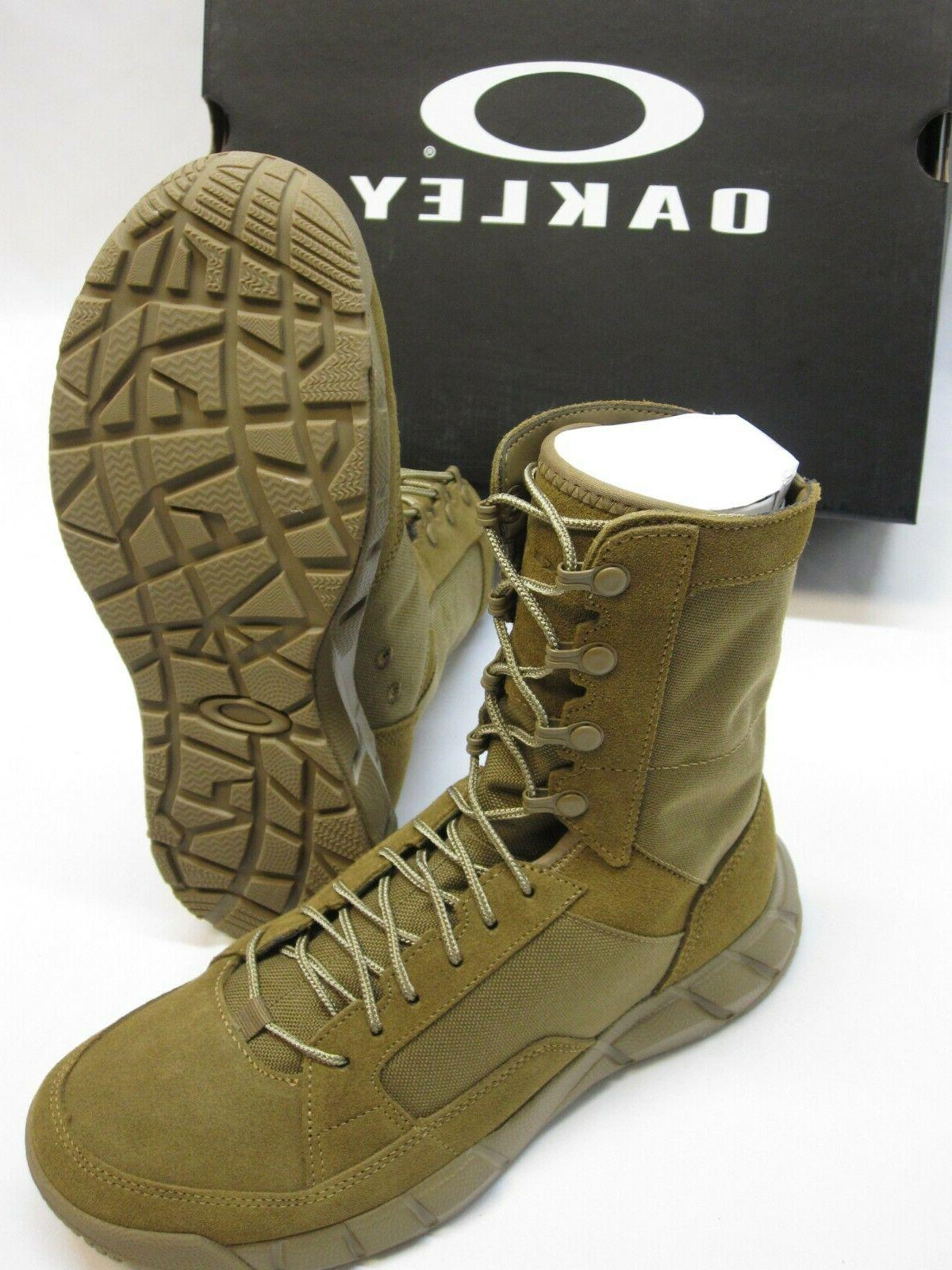OAKLEY LT ARMY OCP BOOTS COYOTE BROWN TACTICAL BOOT