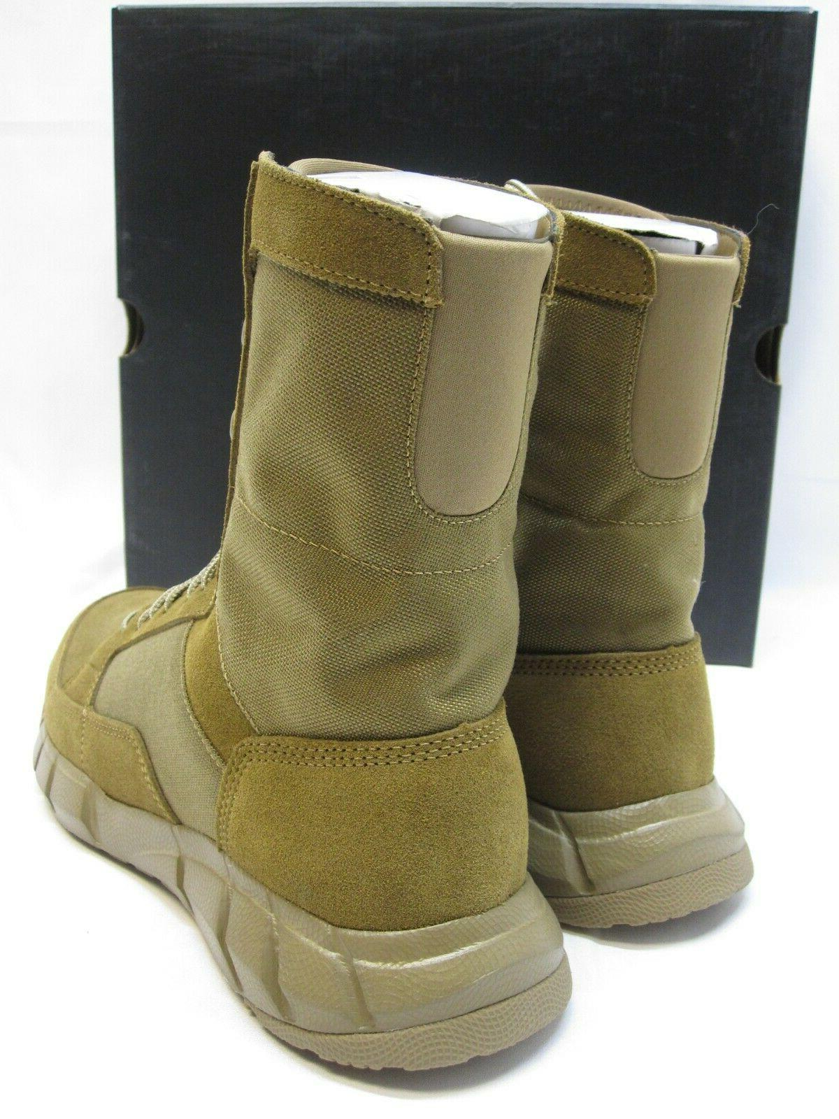 OAKLEY ASSAULT ARMY BOOTS COYOTE BROWN BOOT