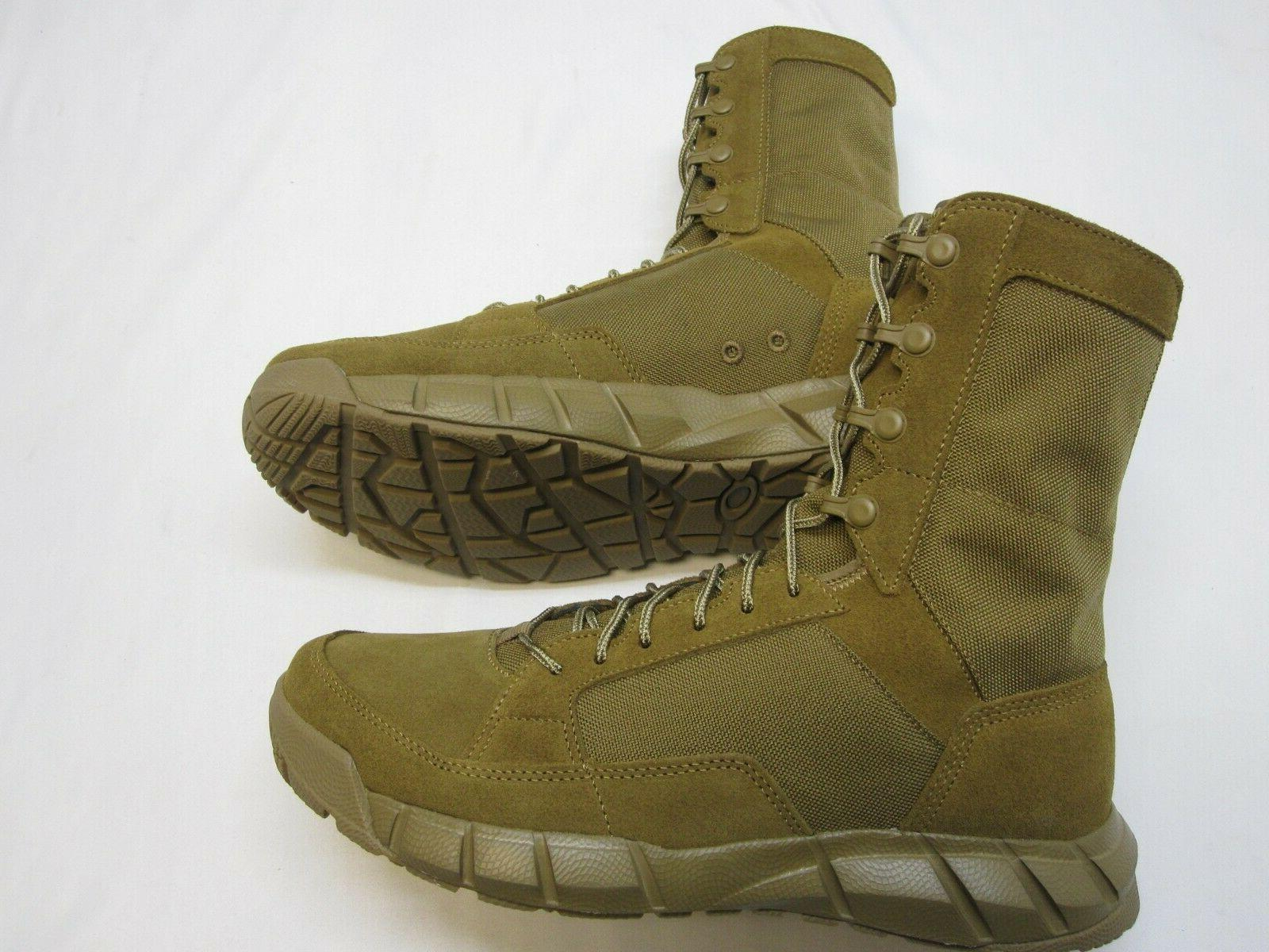 OAKLEY ARMY MILITARY COMBAT BOOTS COYOTE BOOT