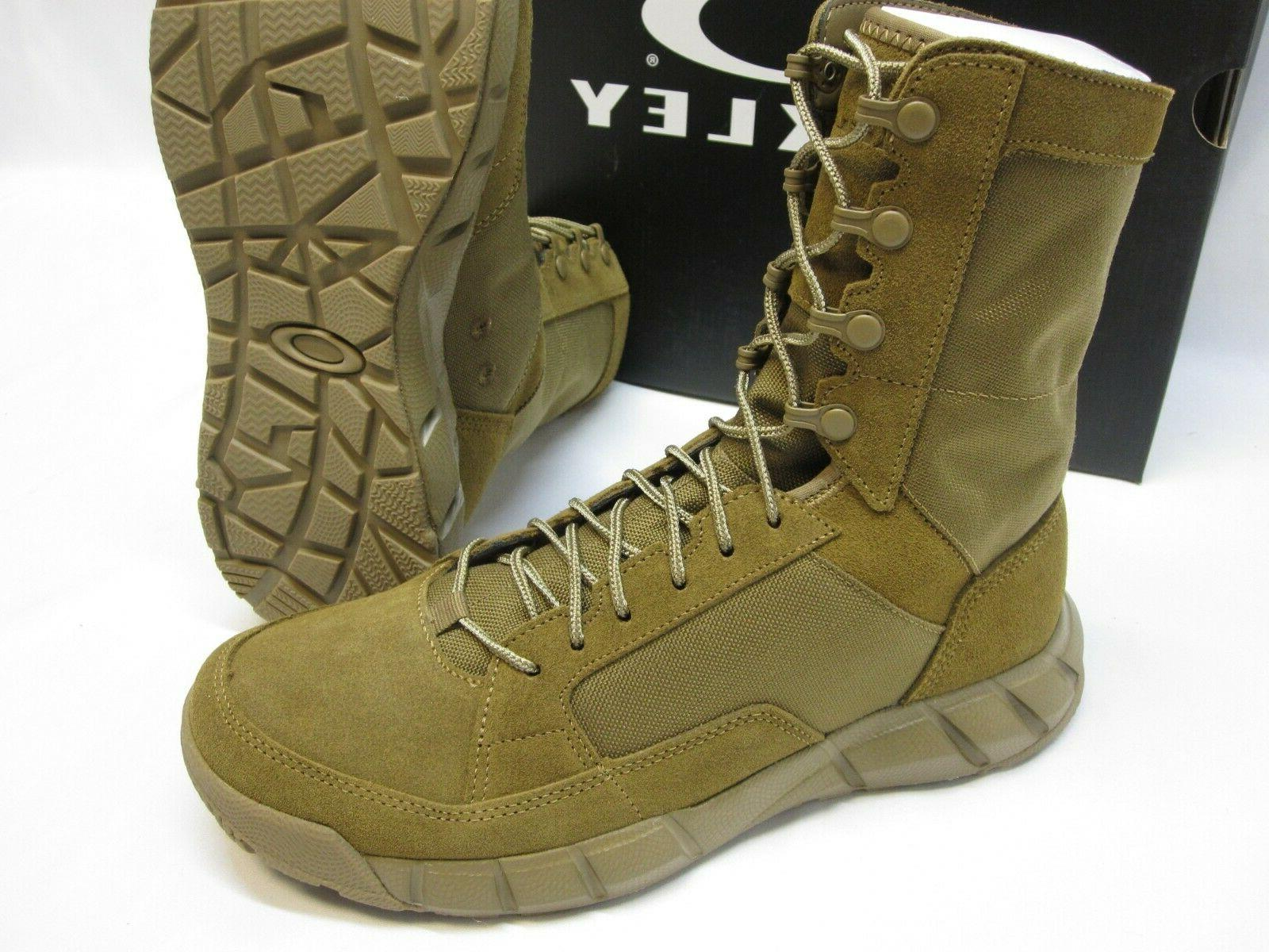 OAKLEY ASSAULT 2 ARMY MILITARY BOOTS COYOTE BROWN