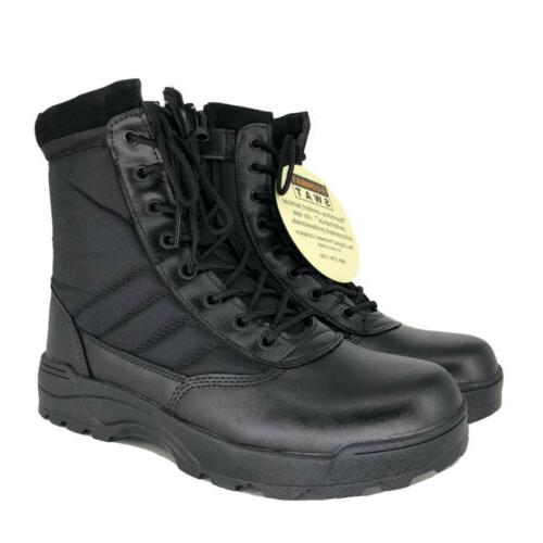 SWAT Mens Tactical Boots Military Army Shoes