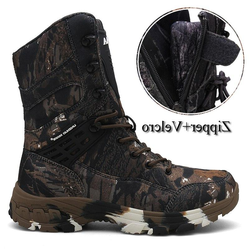 Tactical <font><b>Combat</b></font> <font><b>Boot</b></font> Camouflage Army Shoes Outdoor Shoes