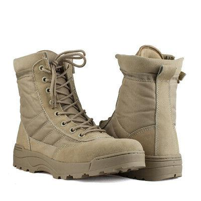 Men Duty Entry Hiking Army Shoes