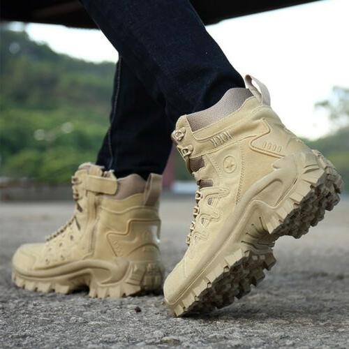 Men Work Boots Forced Tactical Deployment Boots