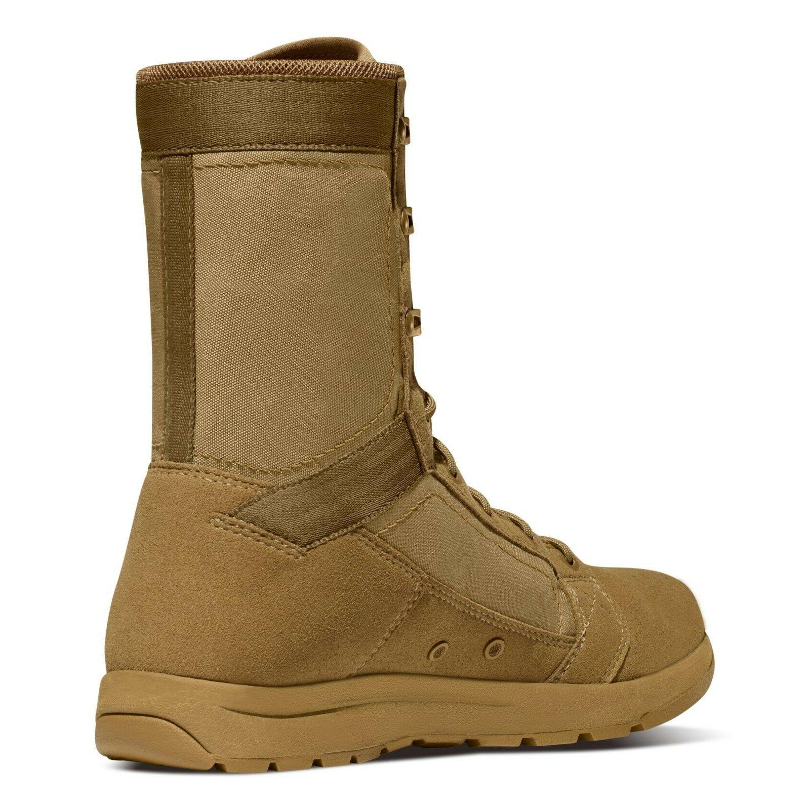 "Danner 50136 8"" Coyote AR Duty Military Tactical Boots"