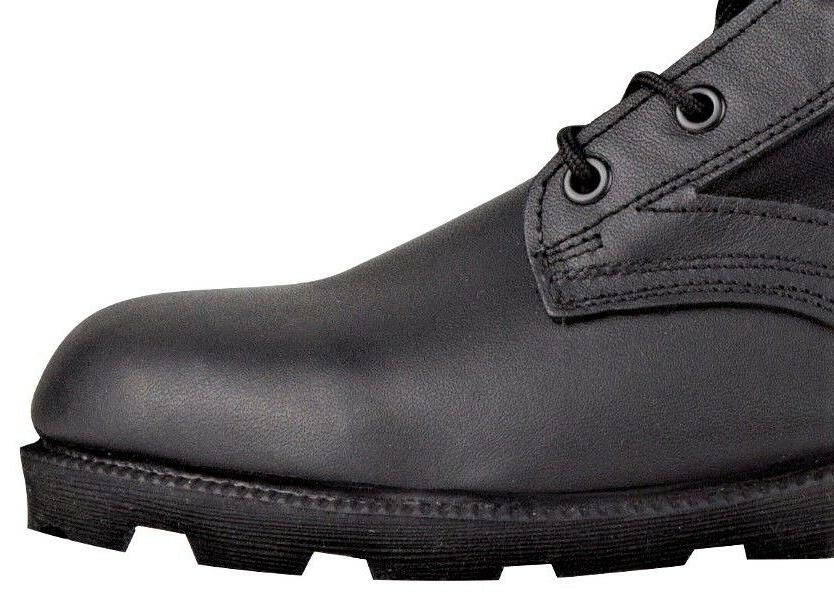 Men's Black Boots with Sole