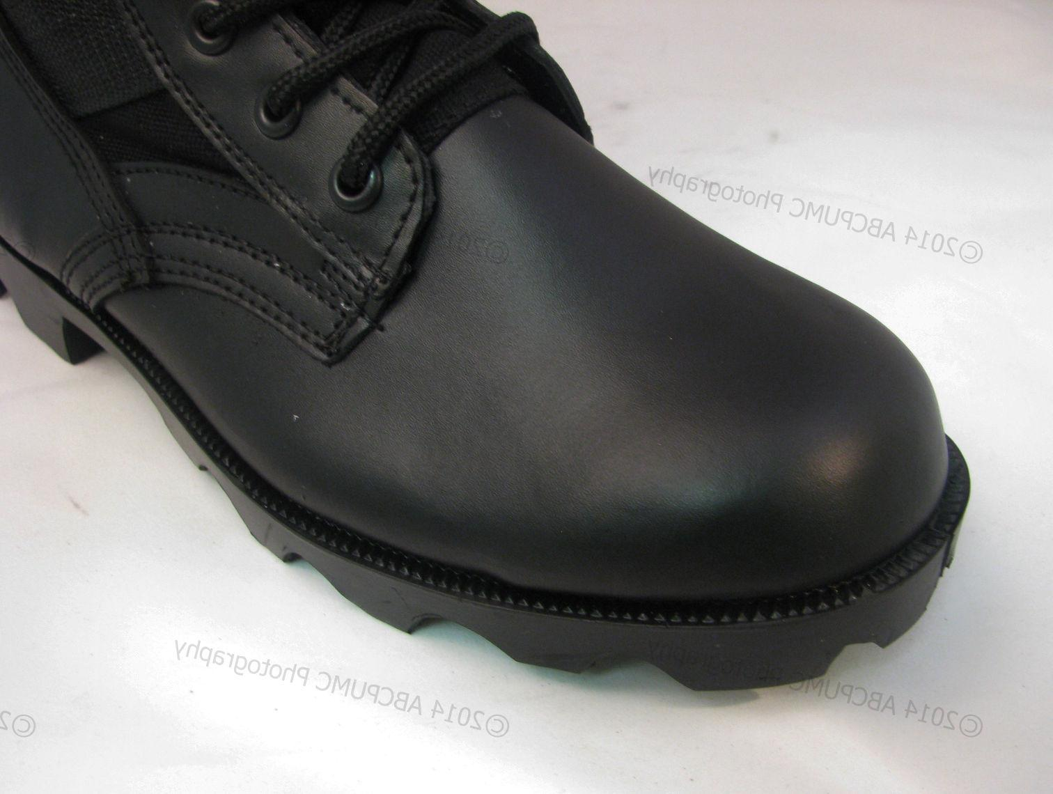 Men's Boots Jungle Type Black Tactical Military Work Shoes,