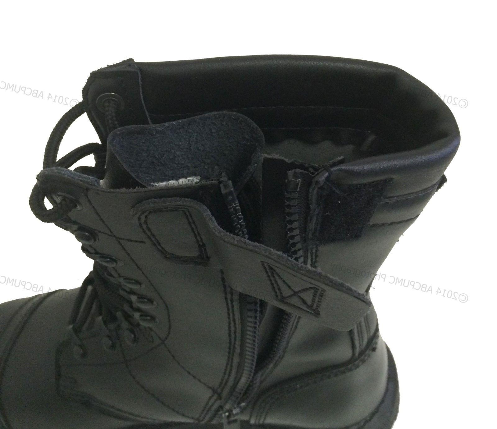 Men's Leather Tactical Black Work Sizes