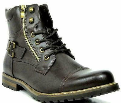 BRUNO MARC Motorcycle Leather Boots