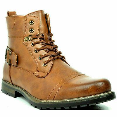 BRUNO Motorcycle Leather Boots