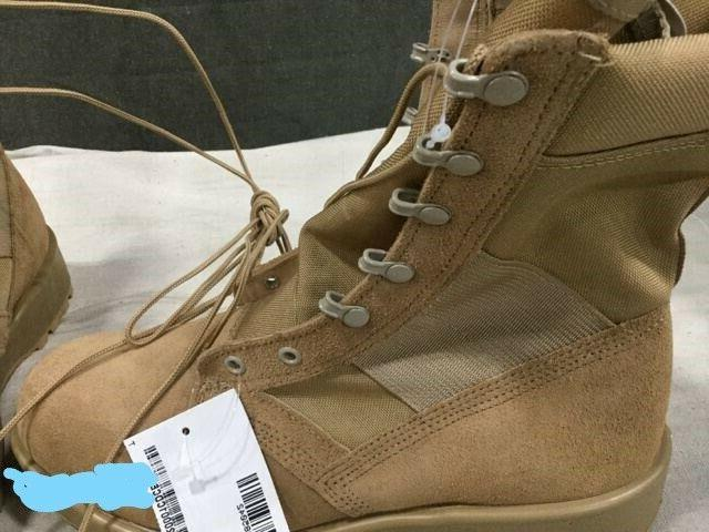 Men's Military Boots LeatherCodora Motorcycle Combat Boots
