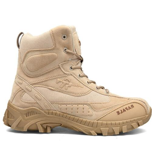 Men's Hiking Military Boots Camping Tactical