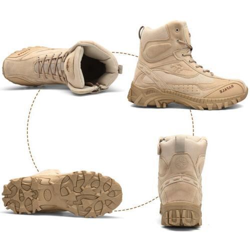 Men's Military Shoes for Camping Desert