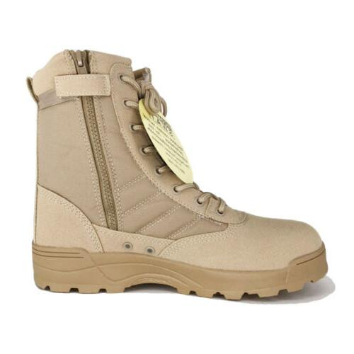SWAT Mens Duty Boots Army Work Shoes