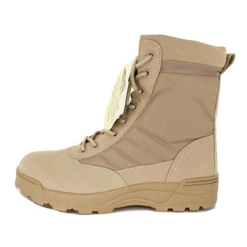SWAT Mens Boots Army Military Shoes