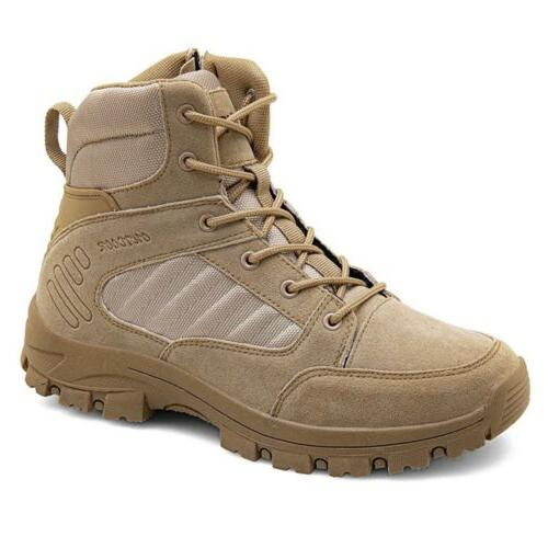 Men's Military Tactical Boots Army Hiking