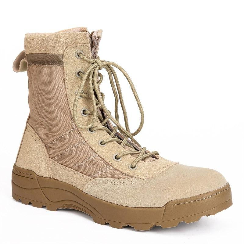 Men <font><b>Boots</b></font> Leather High Work Shoes Ankle <font><b>Combat</b></font> Boothj89