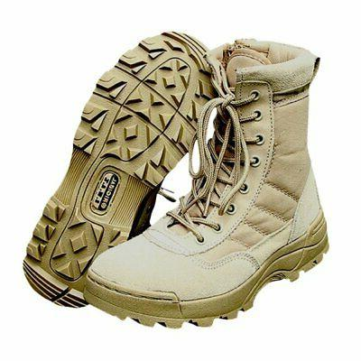 Men Tactical Duty Work Entry Combat Army Shoes
