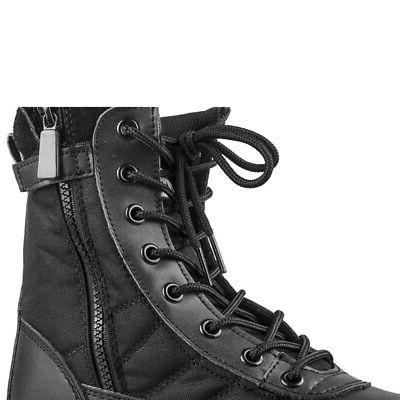 Men Tactical Duty Work Boots Entry Combat Hiking Army Shoes