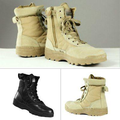Men Tactical SWAT Duty Forced Entry Hiking Shoes