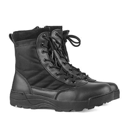 Men Tactical Duty Work Boots Entry Shoes