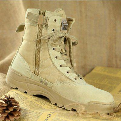 Men Tactical Military Duty Work Boots Forced Entry Combat Army