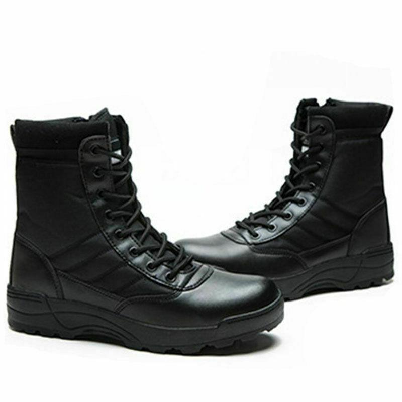 Mens Army Boots Work Desert Shoes