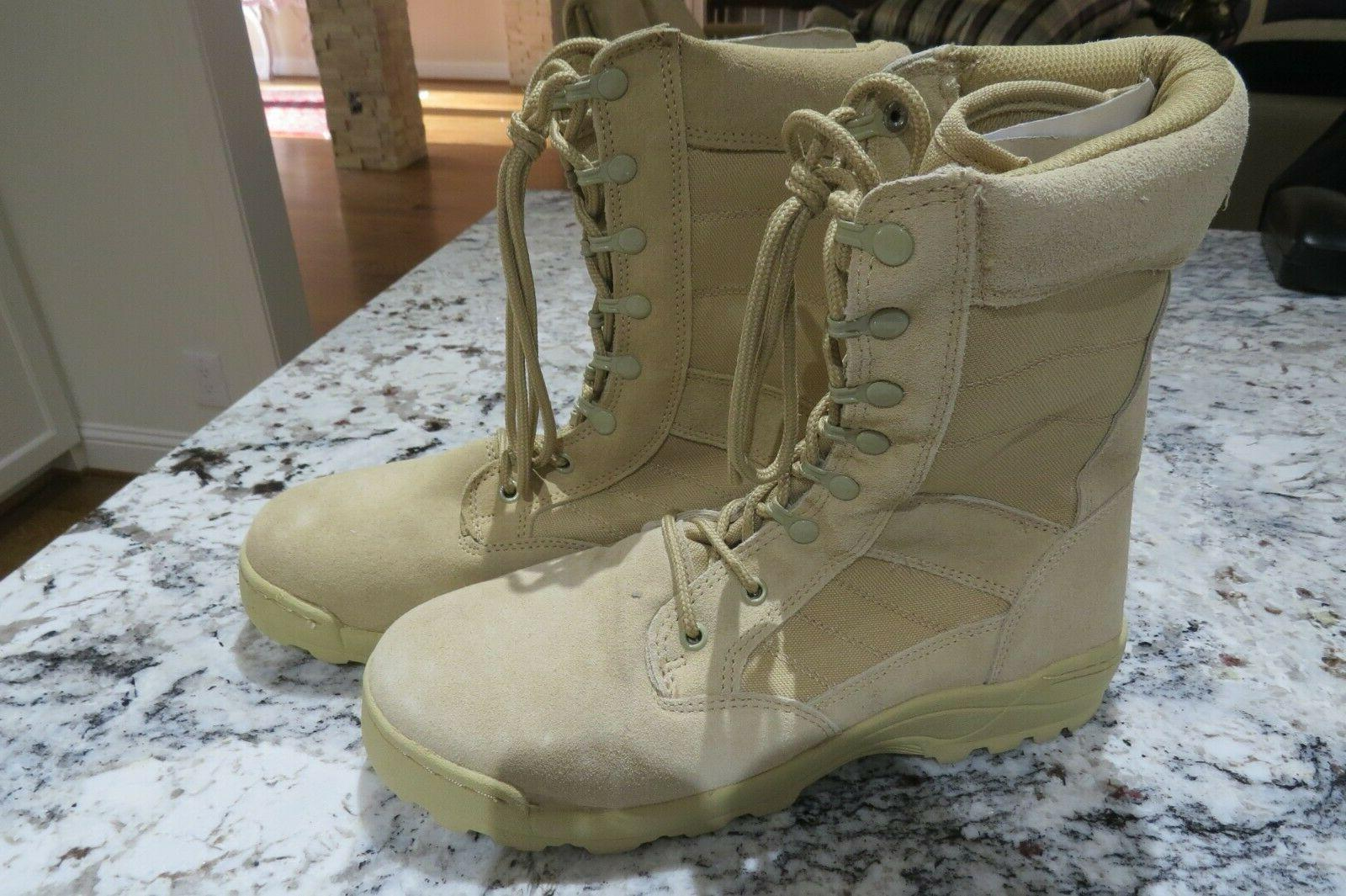 mens coyote brown boots new military work